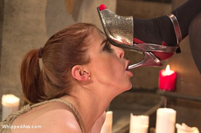 Photo number 1 from Whipped Ass Halloween Feature Presentation: Le Dragon Rouge Part 2 shot for Whipped Ass on Kink.com. Featuring Penny Pax and Mona Wales in hardcore BDSM & Fetish porn.
