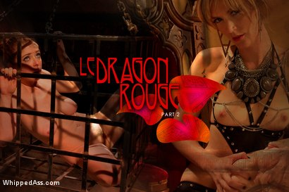 Photo number 10 from Whipped Ass Halloween Feature Presentation: Le Dragon Rouge Part 2 shot for Whipped Ass on Kink.com. Featuring Penny Pax and Mona Wales in hardcore BDSM & Fetish porn.