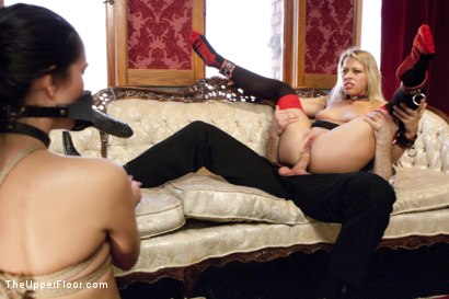 Photo number 9 from Punishing Zoey shot for The Upper Floor on Kink.com. Featuring Bianca Breeze, Bill Bailey and Zoey Monroe in hardcore BDSM & Fetish porn.