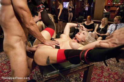 Photo number 14 from Anal Afternoon Brunch  shot for The Upper Floor on Kink.com. Featuring Candice Dare, Karlo Karrera and Holly Heart in hardcore BDSM & Fetish porn.