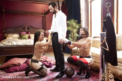 Photo number 5 from The Favorite Slave shot for The Upper Floor on Kink.com. Featuring Tommy Pistol, Gabriella Paltrova and Mia Little in hardcore BDSM & Fetish porn.