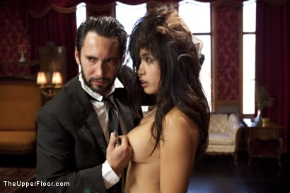 Photo number 9 from The Favorite Slave shot for The Upper Floor on Kink.com. Featuring Tommy Pistol, Gabriella Paltrova and Mia Li in hardcore BDSM & Fetish porn.