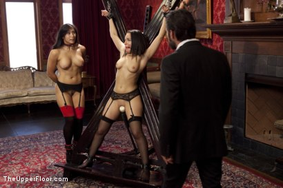 Photo number 8 from The Favorite Slave shot for The Upper Floor on Kink.com. Featuring Tommy Pistol, Gabriella Paltrova and Mia Li in hardcore BDSM & Fetish porn.