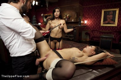 Photo number 11 from The Favorite Slave shot for The Upper Floor on Kink.com. Featuring Tommy Pistol, Gabriella Paltrova and Mia Li in hardcore BDSM & Fetish porn.