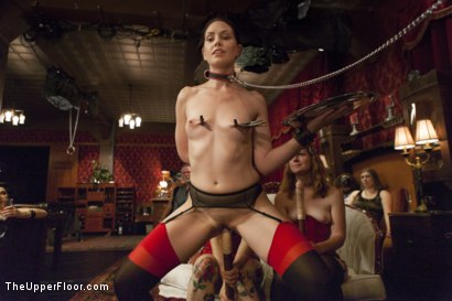 Photo number 2 from Sarah Shevon's Return and Jodi Taylor's Initiation shot for The Upper Floor on Kink.com. Featuring Jodi Taylor, Sarah Shevon and John Strong in hardcore BDSM & Fetish porn.