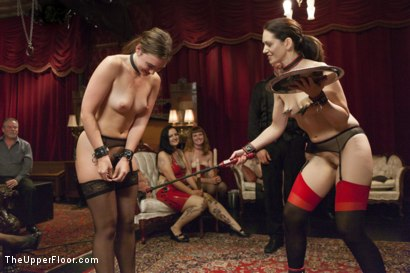 Photo number 1 from Sarah Shevon's Return and Jodi Taylor's Initiation shot for The Upper Floor on Kink.com. Featuring Jodi Taylor, Sarah Shevon and John Strong in hardcore BDSM & Fetish porn.