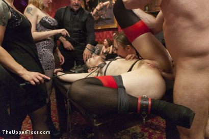 Photo number 7 from Sarah Shevon's Return and Jodi Taylor's Initiation shot for The Upper Floor on Kink.com. Featuring Jodi Taylor, Sarah Shevon and John Strong in hardcore BDSM & Fetish porn.