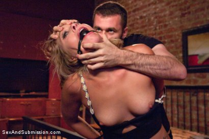 Photo number 1 from Blackmail, Bondage and Butt Sex shot for Sex And Submission on Kink.com. Featuring Zoey Monroe and James Deen in hardcore BDSM & Fetish porn.