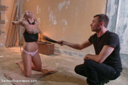 Photo number 10 from Blackmail, Bondage and Butt Sex shot for Sex And Submission on Kink.com. Featuring Zoey Monroe and James Deen in hardcore BDSM & Fetish porn.