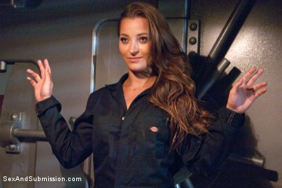 Photo number 3 from The Heist: Dani Daniels Thrilling BDSM Movie shot for Sex And Submission on Kink.com. Featuring James Deen and Dani Daniels in hardcore BDSM & Fetish porn.