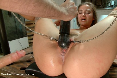 Photo number 14 from The Heist: Dani Daniels Thrilling BDSM Movie shot for Sex And Submission on Kink.com. Featuring James Deen and Dani Daniels in hardcore BDSM & Fetish porn.