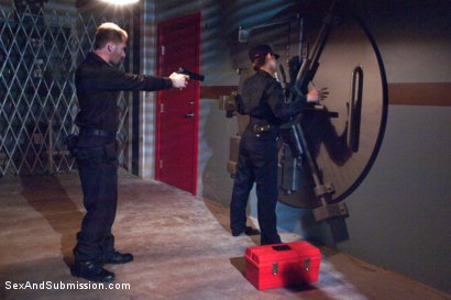 Photo number 2 from The Heist: Dani Daniels Thrilling BDSM Movie shot for Sex And Submission on Kink.com. Featuring James Deen and Dani Daniels in hardcore BDSM & Fetish porn.