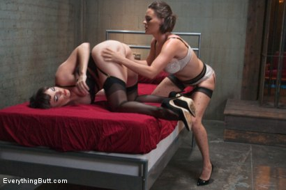 Photo number 2 from Butt Sluts: Krissy and Dana shot for Everything Butt on Kink.com. Featuring Krissy Lynn and Dana DeArmond in hardcore BDSM & Fetish porn.