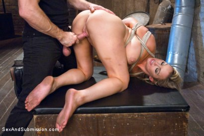 Photo number 6 from The Restless Whore shot for Sex And Submission on Kink.com. Featuring Bill Bailey and Abbey Brooks in hardcore BDSM & Fetish porn.