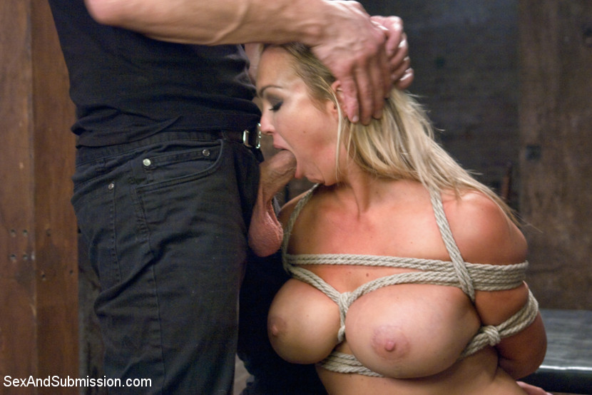 Maledom submits sub into rough throating 2
