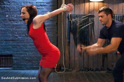 Photo number 2 from Sexual Torment for a Willing Slave shot for Sex And Submission on Kink.com. Featuring Ramon Nomar and Katie St. Ives in hardcore BDSM & Fetish porn.