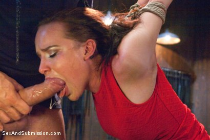 Photo number 4 from Sexual Torment for a Willing Slave shot for Sex And Submission on Kink.com. Featuring Ramon Nomar and Katie St. Ives in hardcore BDSM & Fetish porn.