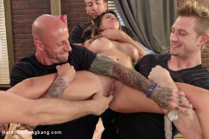 Photo number 1 from Danica Dillon Loses the Takedown Challenge  shot for Hardcore Gangbang on Kink.com. Featuring Danica Dillon, Jordan Ash, John Strong, Astral Dust, Bill Bailey and Ramon Nomar in hardcore BDSM & Fetish porn.