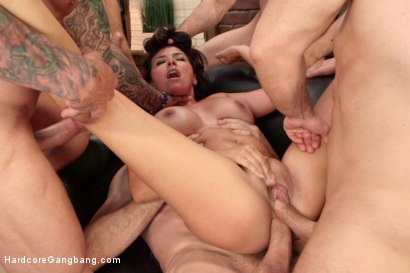 Photo number 13 from Danica Dillon Loses the Takedown Challenge  shot for Hardcore Gangbang on Kink.com. Featuring Danica Dillon, Jordan Ash, John Strong, Astral Dust, Bill Bailey and Ramon Nomar in hardcore BDSM & Fetish porn.