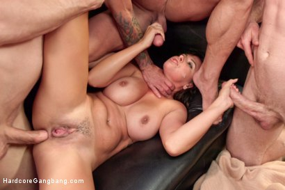 Photo number 2 from Danica Dillon Loses the Takedown Challenge  shot for Hardcore Gangbang on Kink.com. Featuring Danica Dillon, Jordan Ash, John Strong, Astral Dust, Bill Bailey and Ramon Nomar in hardcore BDSM & Fetish porn.