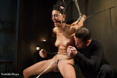 Photo number 9 from Totally Immobilized and Helpless shot for Sadistic Rope on Kink.com. Featuring Lyla Storm in hardcore BDSM & Fetish porn.