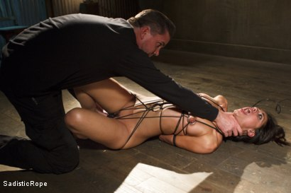 Photo number 11 from Totally Immobilized and Helpless shot for Sadistic Rope on Kink.com. Featuring Lyla Storm in hardcore BDSM & Fetish porn.