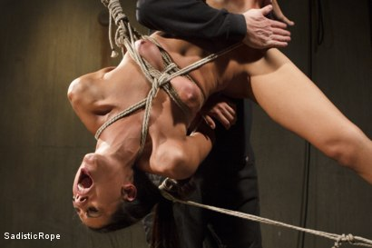 Photo number 12 from Totally Immobilized and Helpless shot for Sadistic Rope on Kink.com. Featuring Lyla Storm in hardcore BDSM & Fetish porn.
