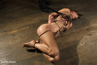 Photo number 4 from Totally Immobilized and Helpless shot for Sadistic Rope on Kink.com. Featuring Lyla Storm in hardcore BDSM & Fetish porn.