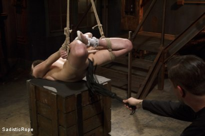 Photo number 12 from Grueling Bondage shot for Sadistic Rope on Kink.com. Featuring Casey Calvert in hardcore BDSM & Fetish porn.