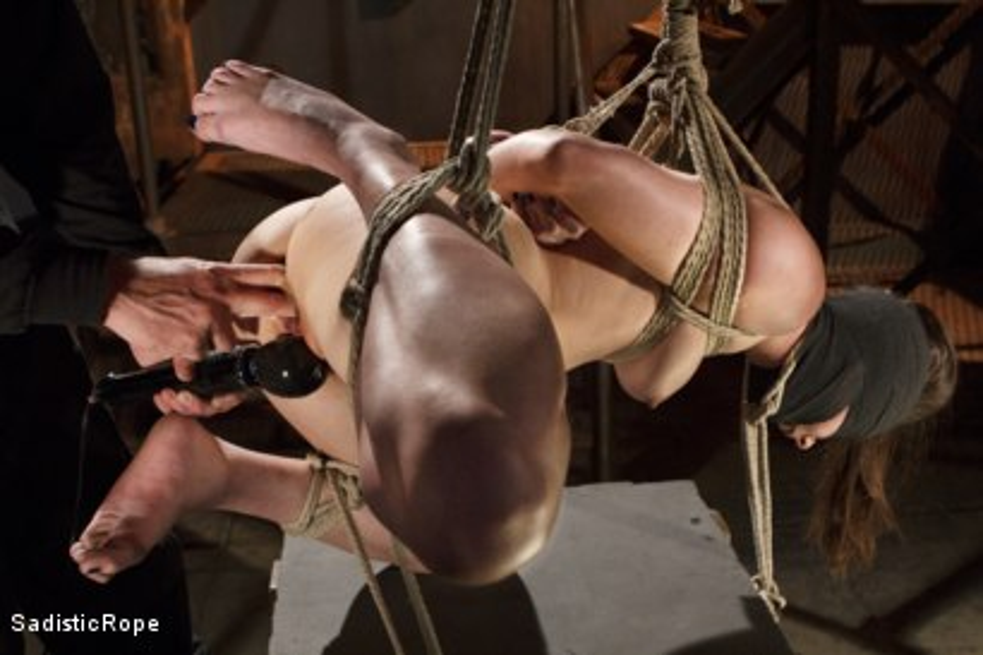 Photo number 3 from Grueling Bondage shot for Sadistic Rope on Kink.com. Featuring Casey Calvert in hardcore BDSM & Fetish porn.