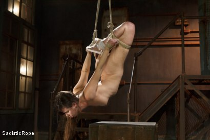 Photo number 5 from Grueling Bondage shot for Sadistic Rope on Kink.com. Featuring Casey Calvert in hardcore BDSM & Fetish porn.