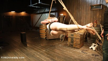 Photo number 11 from Bombproof Bottoming: Suspension from Sub's Side - with Tifereth and Cannon shot for Kink University on Kink.com. Featuring Tifereth and Cannon in hardcore BDSM & Fetish porn.