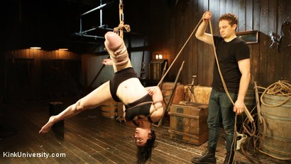 Photo number 4 from Bombproof Bottoming: Suspension from Sub's Side - with Tifereth and Cannon shot for Kink University on Kink.com. Featuring Tifereth and Cannon in hardcore BDSM & Fetish porn.