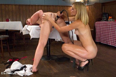 Photo number 17 from Bratty Pig Punished! shot for Electro Sluts on Kink.com. Featuring Mona Wales and Jodi Taylor in hardcore BDSM & Fetish porn.