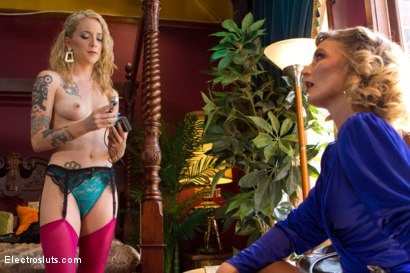 Photo number 17 from Hollywood Madame: The Training of an Electro Whore shot for Electro Sluts on Kink.com. Featuring Mona Wales and Jeze Belle in hardcore BDSM & Fetish porn.