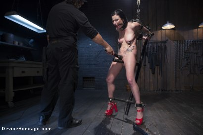 Photo number 5 from Ask, and you shall recieve shot for Device Bondage on Kink.com. Featuring Orlando and Veruca James in hardcore BDSM & Fetish porn.