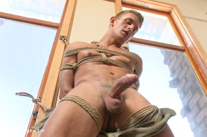 Photo number 6 from German Hunk Suspended and Edged shot for Men On Edge on Kink.com. Featuring Alexander Gustavo in hardcore BDSM & Fetish porn.