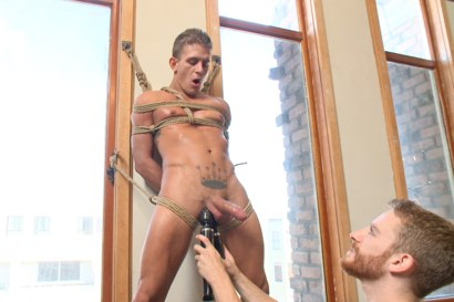 Photo number 5 from German Hunk Suspended and Edged shot for Men On Edge on Kink.com. Featuring Alexander Gustavo in hardcore BDSM & Fetish porn.