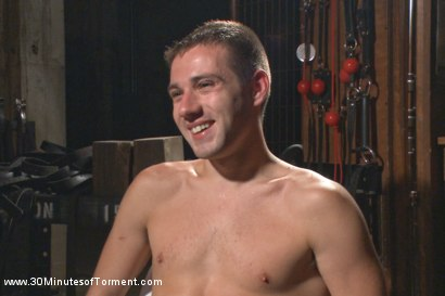 Photo number 15 from The Destruction of Dylan Knight shot for 30 Minutes of Torment on Kink.com. Featuring Dylan Knight in hardcore BDSM & Fetish porn.