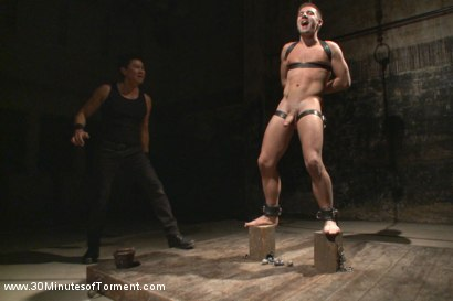 Photo number 7 from The Destruction of Dylan Knight shot for 30 Minutes of Torment on Kink.com. Featuring Dylan Knight in hardcore BDSM & Fetish porn.