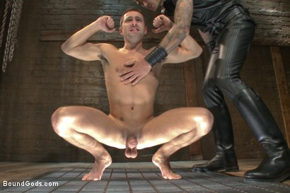 Photo number 4 from Mr Wilde trains a new slave boy and fucks him into submission shot for Bound Gods on Kink.com. Featuring Christian Wilde and Dylan Knight in hardcore BDSM & Fetish porn.