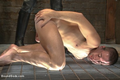 Photo number 6 from Mr Wilde trains a new slave boy and fucks him into submission shot for Bound Gods on Kink.com. Featuring Christian Wilde and Dylan Knight in hardcore BDSM & Fetish porn.