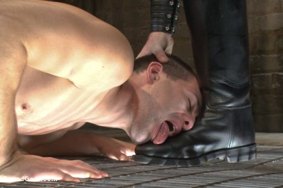 Photo number 9 from Mr Wilde trains a new slave boy and fucks him into submission shot for Bound Gods on Kink.com. Featuring Christian Wilde and Dylan Knight in hardcore BDSM & Fetish porn.