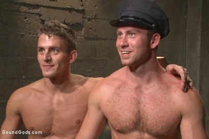Photo number 15 from Officer Maguire beats and fucks a stud for littering shot for Bound Gods on Kink.com. Featuring Connor Maguire and Alexander Gustavo in hardcore BDSM & Fetish porn.