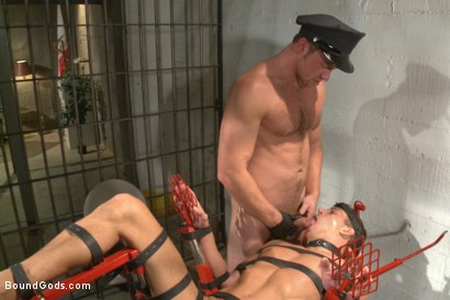 Photo number 14 from Officer Maguire beats and fucks a stud for littering shot for Bound Gods on Kink.com. Featuring Connor Maguire and Alexander Gustavo in hardcore BDSM & Fetish porn.