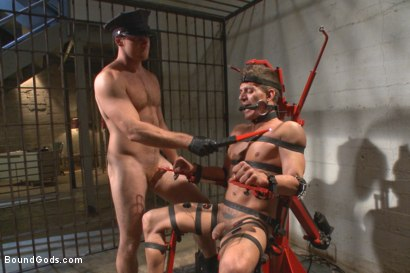 Photo number 11 from Officer Maguire beats and fucks a stud for littering shot for Bound Gods on Kink.com. Featuring Connor Maguire and Alexander Gustavo in hardcore BDSM & Fetish porn.