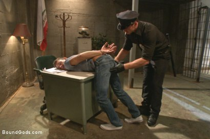 Photo number 1 from Officer Maguire beats and fucks a stud for littering shot for Bound Gods on Kink.com. Featuring Connor Maguire and Alexander Gustavo in hardcore BDSM & Fetish porn.