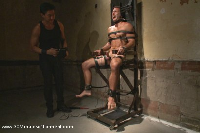 Photo number 8 from Cameron Kincade's Excruciating Ass Challenge shot for 30 Minutes of Torment on Kink.com. Featuring Cameron Kincade in hardcore BDSM & Fetish porn.