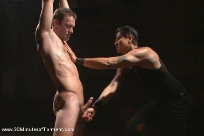 Photo number 2 from Cameron Kincade's Excruciating Ass Challenge shot for 30 Minutes of Torment on Kink.com. Featuring Cameron Kincade in hardcore BDSM & Fetish porn.