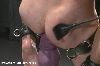 Photo number 12 from Cameron Kincade's Excruciating Ass Challenge shot for 30 Minutes of Torment on Kink.com. Featuring Cameron Kincade in hardcore BDSM & Fetish porn.